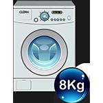 Πλυντήρια 8Kg